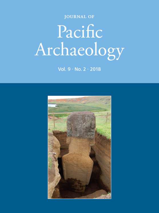 Excavated moai RR–001–156 (Photo by B. Tuki Haoa/EISP)